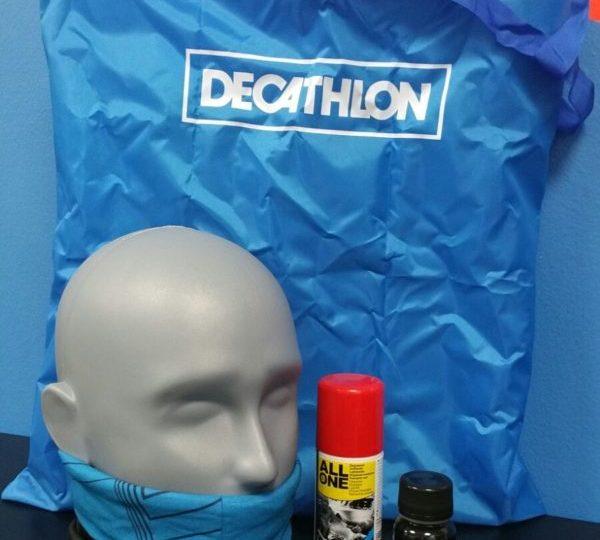 Il premio di partecipazione offerto da DECATHLON
