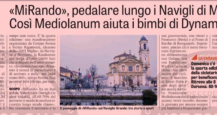 Mirando Milano su La Gazzetta dello Sport